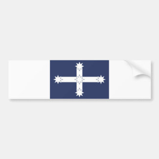 eureka miners battle old flag australia country bumper sticker