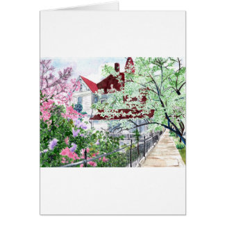 Eureka Springs Victorian House Card