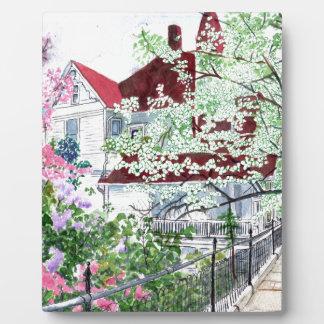 Eureka Springs Victorian House Plaque