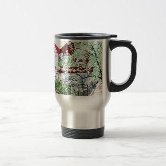 Eureka Springs Victorian House Travel Mug