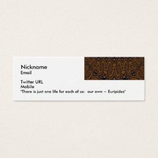 Euripides Flirt Card