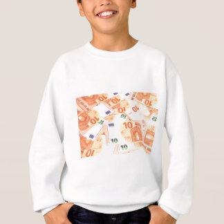 Euro background sweatshirt