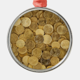 Euro Coins Currency Money Yellow Market Europe Metal Ornament