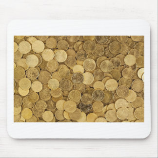Euro Coins Currency Money Yellow Market Europe Mouse Pad