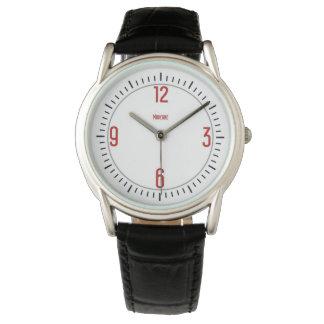 Euro Moderne 1 Red Designer Watch