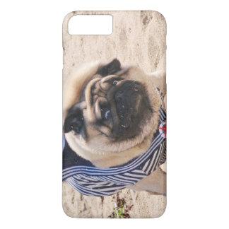 Euro Pug Funny Sailor iPhone 7 case