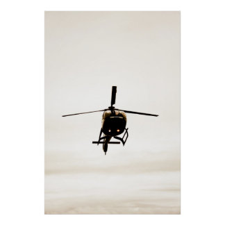 Eurocopter EC-130 Helicopter Poster