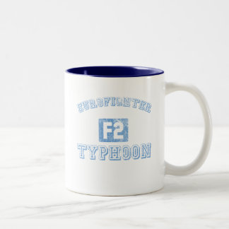 Eurofighter Typhoon - BLUE Two-Tone Coffee Mug