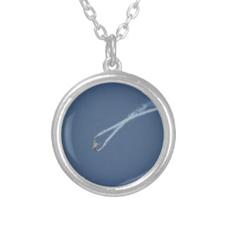 Eurofighter Typhoon flight 1 Silver Plated Necklace