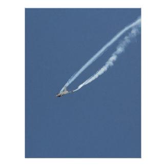 Eurofighter Typhoon flight 3 Letterhead