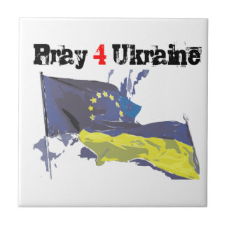 Euromaidan = Pray 4 Ukraine = Freedom Ceramic Tiles