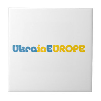 Euromaidan Pray for Ukraine Freedom Ceramic Tiles