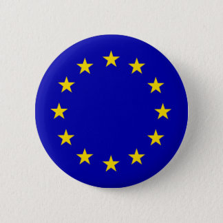 Europa Flag 2 Inch Round Button