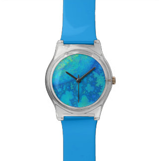 Europa JellyFish 3D Fractal PICK A COLOR Wrist Watch