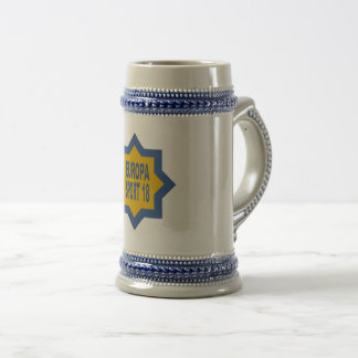EUROPA SPORT CATCHES BEER STEIN