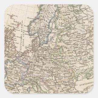 Europa Square Sticker
