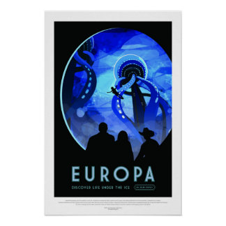 Europa, Travel Poster