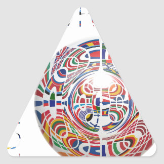 Europa ! triangle sticker
