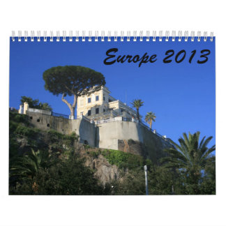 Europe 2013 wall calendar