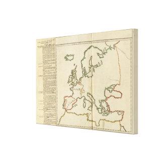 Europe 32 canvas prints