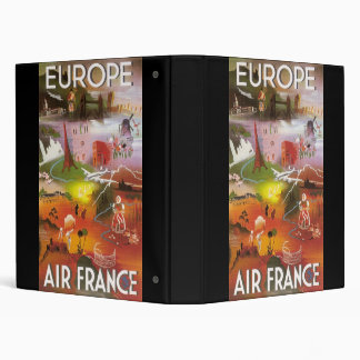 Europe Air France Binder