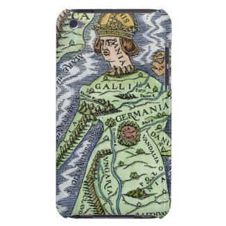 EUROPE AS A QUEEN, 1588 BARELY THERE iPod COVER