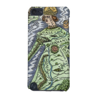 EUROPE AS A QUEEN, 1588 iPod TOUCH (5TH GENERATION) CASE