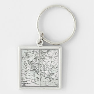 Europe, at the start of the Reformation Keychains