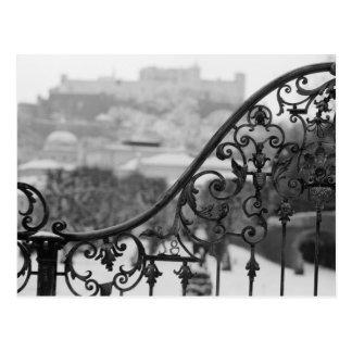 Europe, Austria, Salzburg. View of the Old City Postcard
