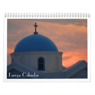 Europe Calendar
