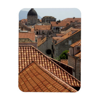 Europe, Croatia. Medieval walled city of 2 Magnet