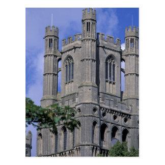 Europe, England, Cambridgeshire, Ely. Ely 2 Postcard