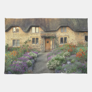 Europe, England, Chippenham. Early morning light Kitchen Towel