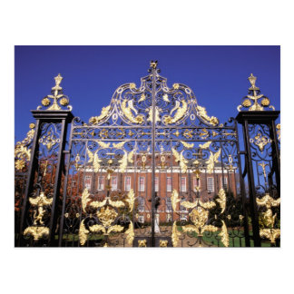 Europe, England, London. Gilded gate outside of Postcard