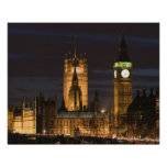 Europe, ENGLAND, London: Houses of Parliament / 2 Poster