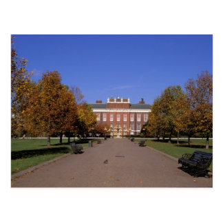 Europe, England, London. Kensington Palace in Postcard