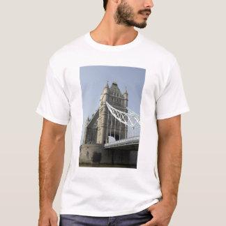 Europe, England, London. Tower Bridge over the T-Shirt