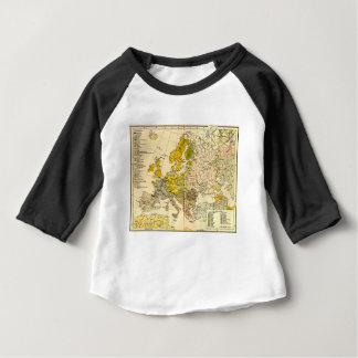 Europe ethnic map 1897 (hungarian version) baby T-Shirt