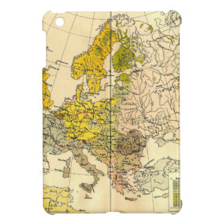 Europe ethnic map 1897 (hungarian version) case for the iPad mini