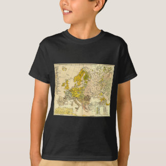 Europe ethnic map 1897 (hungarian version) T-Shirt