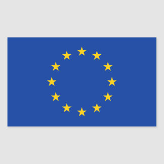 Europe/European Union Flag Sticker