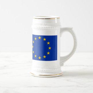 Europe flag beer stein