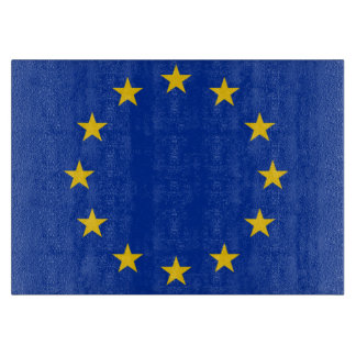 Europe flag cutting board