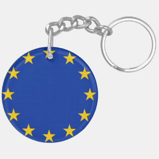 Europe flag keychain