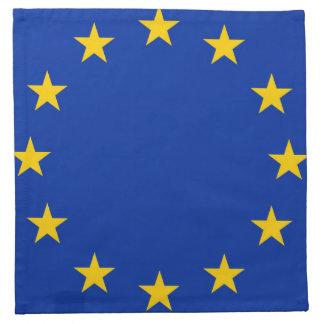 Europe flag napkin