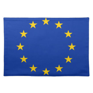 Europe flag placemat