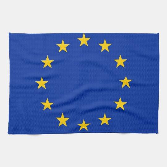 Europe flag towels