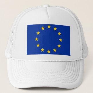 Europe flag trucker hat