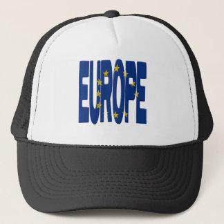 Europe + Flag Trucker Hat