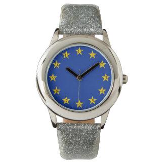 Europe flag watch
